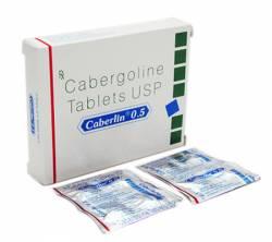 Caberlin 0.5 mg (4 pills)