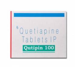 Qutipin 100 mg (10 pills)