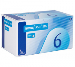 Novofine 6 mm - 31G (100 needles)