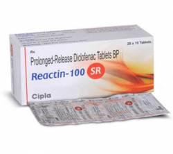 Reactin SR 100 mg (10 pills)