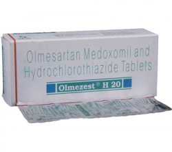 Olmezest H 20 mg / 12.5 mg (10 pills)