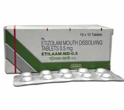 Etilaam MD 0.5 mg (100 pills)