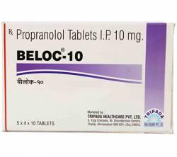 Beloc 10 mg (10 pills)