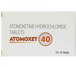 Atomoxet 40 mg (10 pills)