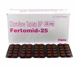 Fertomid 25 mg (10 pills)