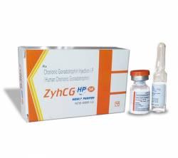 HCG ZyhCG 5000iu (1 amp)
