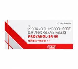 Provanol SR 80 mg (10 pills)