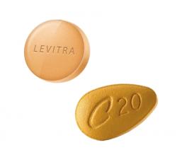 ED Trial Pack: Levitra 20 + Cialis 20 (20 pills) (20 pills)