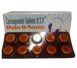 Pain-O-Soma 350 mg (10 pills)