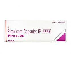 Pirox 20 mg (10 pills)
