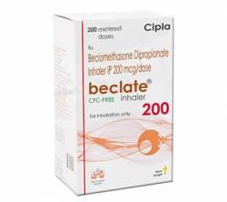 Beclate Inhaler 200 mcg (1 inhaler)