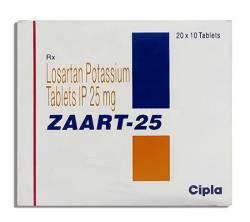 Zaart 25 mg (10 pills)