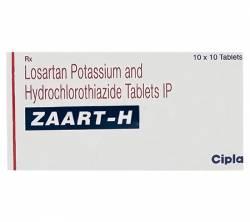 Zaart-H 50 mg / 12.5 mg (10 pills)