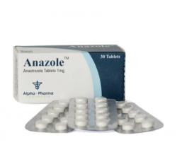 Anazole 1 mg (30 pills)