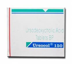 Ursocol (UDCA) 150 mg (10 pills)