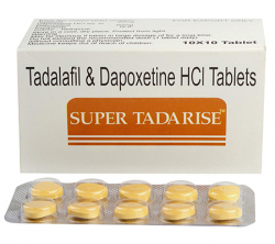 Super Tadarise 20/60 mg (10 pills)