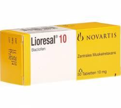 Lioresal 10 mg (50 pills)
