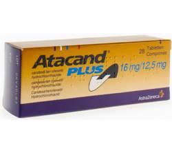 Atacand Plus 16 mg /12.5 mg (28 pills)