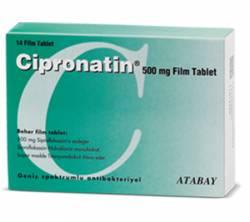 Cipronatin 500 mg (14 pills)