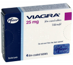 Viagra 25 mg (4 pills)