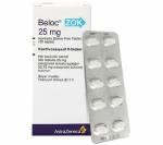 Beloc ZOK 25 mg (20 pills)