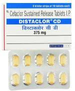 Distaclor CD 375 mg (30 pills)