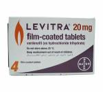 Levitra 20 mg (2 pills)