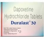 Duralast 30 mg (4 pills)