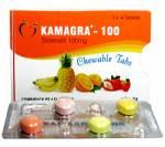 Kamagra Chewable 100 mg (4 pills)