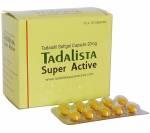 Tadalista Super Active 20 mg (10 pills)