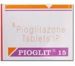 Pioglit 15 mg (10 pills)